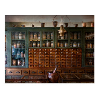 Pharmacy - Right behind the counter Post Cards