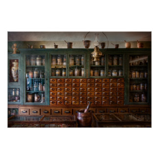 Pharmacy - Right behind the counter Print