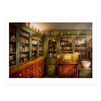 Pharmacy - Room - The dispensary Post Card