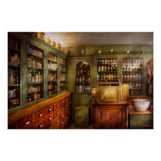 Pharmacy - Room - The dispensary Poster