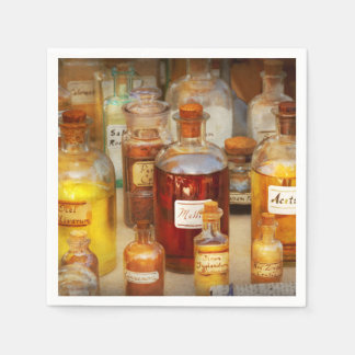Pharmacy - Serums and Elixirs Napkin