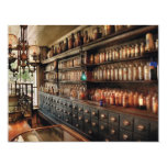 Pharmacy - So many drawers and bottles 4.25x5.5 Paper Invitation Card