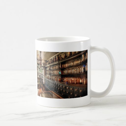 Pharmacy - So many drawers and bottles Mug