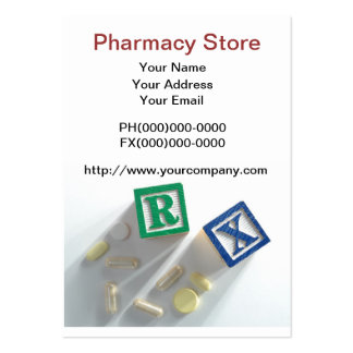 Pharmacy Store Business Card