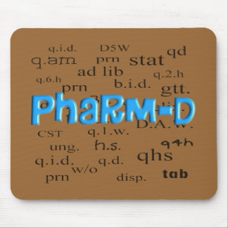 Pharmacy Student Pharm-D Gifts Mouse Pad