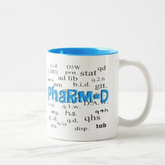Pharmacy Student Pharm-D Gifts Two-Tone Coffee Mug
