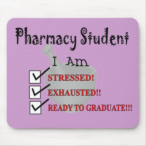 "Pharmacy Student ""Ready To Graduate!!!"" Mousepad"
