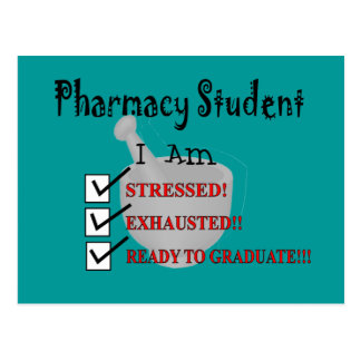 "Pharmacy Student ""Ready To Graduate!!!"" Postcard"