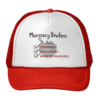 "Pharmacy Student ""Ready To Graduate!!!"" Trucker Hat"