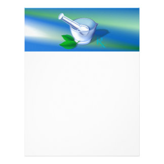 Pharmacy Symbol Letterhead