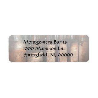 Pharmacy - Syrup Selection Custom Return Address Label