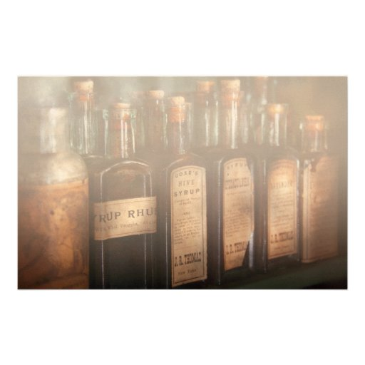 Pharmacy - Syrup Selection Customized Stationery