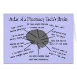 "Pharmacy Tech ""Atlas of Pharmacy Tech Brain"" Card"