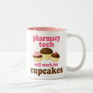 Pharmacy Tech (Funny) Gift Mugs