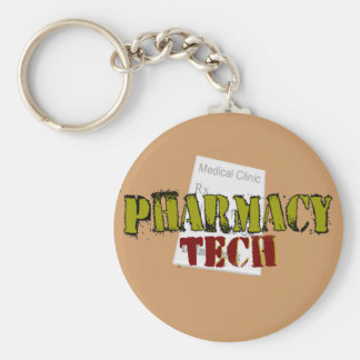 Pharmacy Tech Gifts With Prescription Design Keychain
