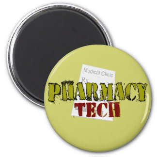 Pharmacy Tech Gifts With Prescription Design Magnet