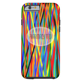 Pharmacy Tech iPhone 6 case Colorful Abstract