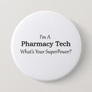 Pharmacy Tech Pinback Button