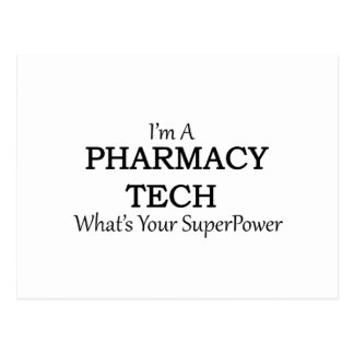 PHARMACY TECH POSTCARD