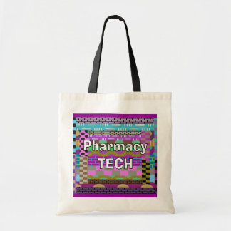 Pharmacy  Tech Tote Abstract Art Tote Bag