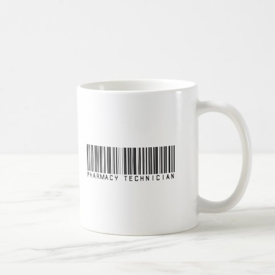 Pharmacy Technician Bar Code Coffee Mug
