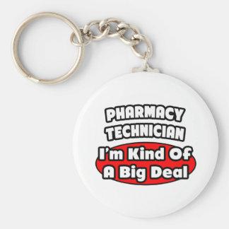 Pharmacy Technician .. Big Deal Keychain