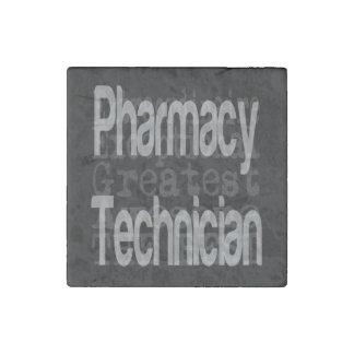 Pharmacy Technician Extraordinaire Stone Magnet