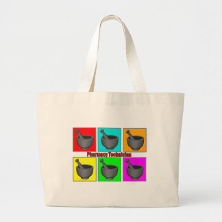 Pharmacy Technician Popart Gifts Large Tote Bag
