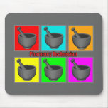 Pharmacy Technician Popart Gifts Mouse Pad