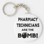 Pharmacy Technicians Are The Bomb! Key Chains