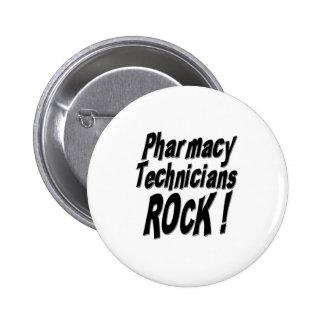 Pharmacy Technicians Rock! Button
