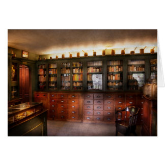 Pharmacy - The Apothecary Shop Card