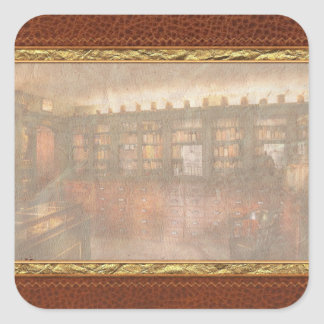 Pharmacy - The Apothecary Shop Square Sticker