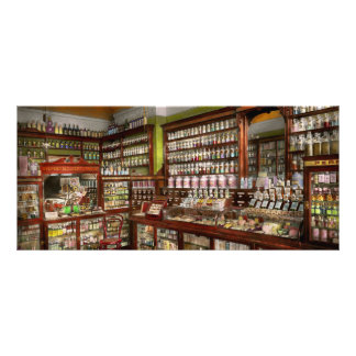 Pharmacy - The chemist shop of Mr Jones 1907 Rack Card