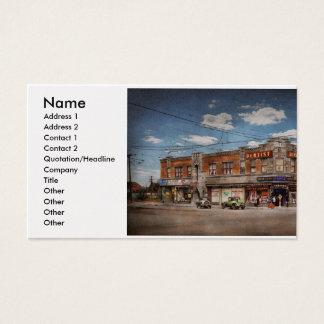 Pharmacy - The corner drugstore 1910 Business Card
