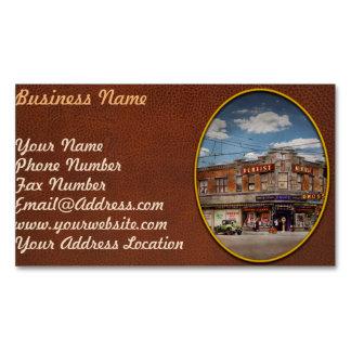Pharmacy - The corner drugstore 1910 Business Card Magnet