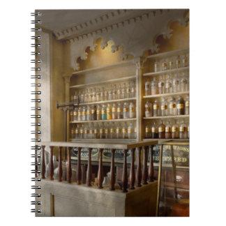 Pharmacy - The corner pharmacy Spiral Notebooks