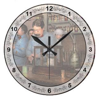 Pharmacy - The dispensing chemist 1918 Large Clock