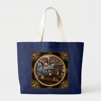 Pharmacy - The dispensing chemist 1918 Large Tote Bag