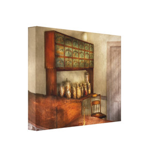 Pharmacy - The herbalist Gallery Wrapped Canvas