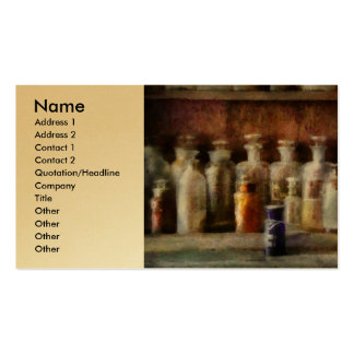 Pharmacy - The Medicine Counter Business Card Template
