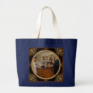 Pharmacy - The mixologist 1905 Large Tote Bag