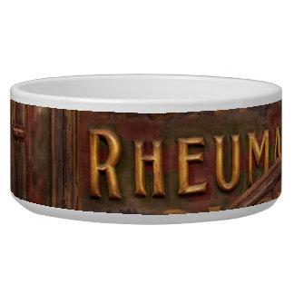 Pharmacy - The Rheumatic Cure wagon Bowl