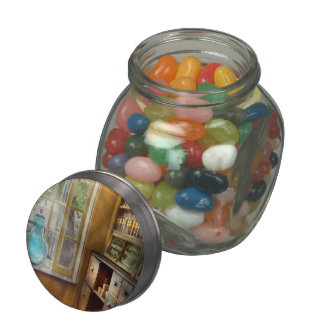 Pharmacy - The show globe Jelly Belly Candy Jars