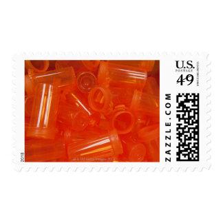 Pharmacy tools, pills, medication 2 postage stamp
