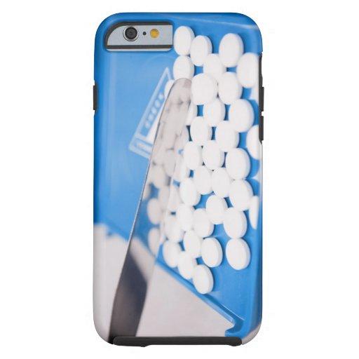 Pharmacy tools, pills, medication iPhone 6 case