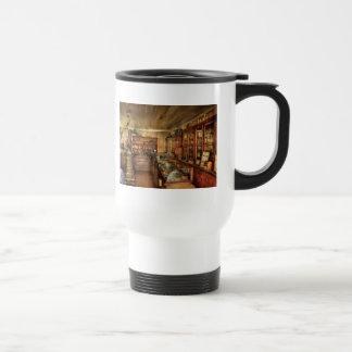 Pharmacy - Turn of the Century Pharmacy 15 Oz Stainless Steel Travel Mug