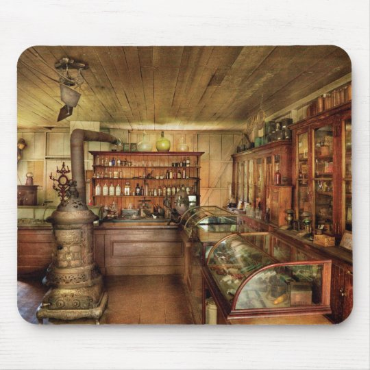Pharmacy - Turn of the Century Pharmacy Mouse Pad