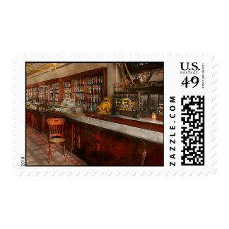 Pharmacy - W.B. Danforth Drugs 1895 Postage