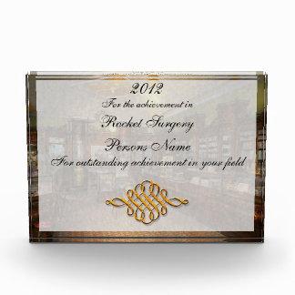 Pharmacy - Weller's Pharmacy 1915 Acrylic Award